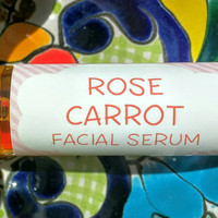 Rose and Carrot Facial Serum ~ Facial Oil ~ Face Oil ~ Facial Moisturizer ~ Roll on Oil