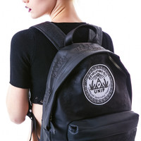 UNIF Revelation Backpack Black One