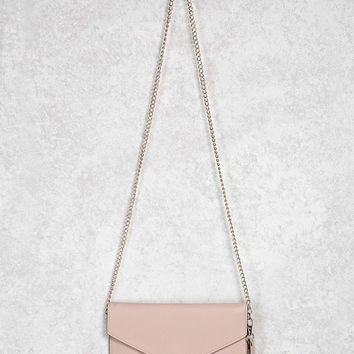 Envelope Faux Leather Crossbody
