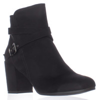 madden girl Rightonn Ankle Booties, Black, 9.5 US