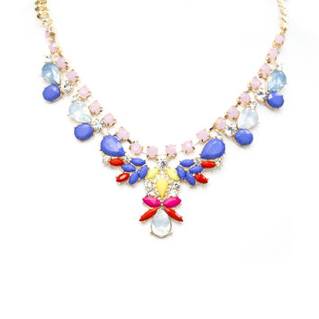 Bloom Of Color Necklace Set