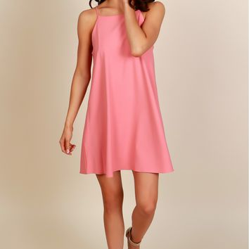 All About You Shift Dress Mauve