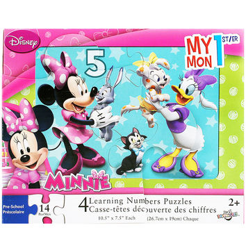 Minnie Mouse - My 1st Learning Numbers Puzzle
