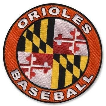 Baltimore Orioles 2009 Road Jersey MLB Baseball Sleeve Patch - Ships w/a Tracking Numb