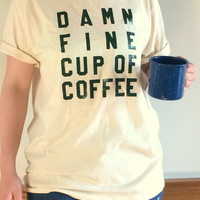 Twin Peaks Damn Fine Coffee T Shirt