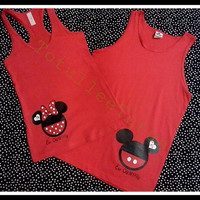 MR/Mrs Couples Disney Inspired Tank Tops Perfect by TotulleeTutus