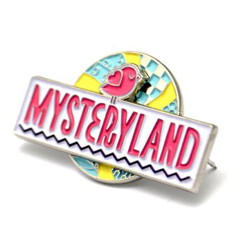 The MysteryLand Spinner Pin