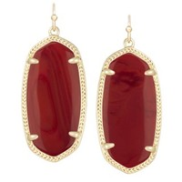 Elle Earrings in Dark Red - Kendra Scott Jewelry