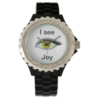 I watch and see joy