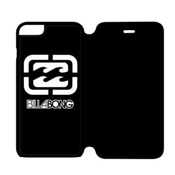 Billabong Logo Surfing Clothing iPhone 6 Plus Flip Case Cover