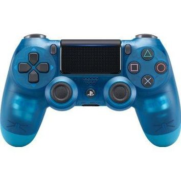 Sony PlayStation DualShock 4 PS4 Wireless Controller (2nd Generation) - Exclusive Blue Crystal Edition