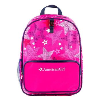 American Girl 24160 Pink Stars Backpack, Multicolor