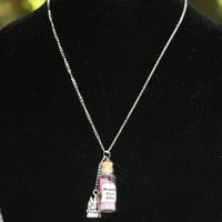 Happily Ever After Fairy Tale Necklace Bottle by LifeistheBubbles