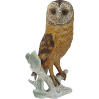 Large Goebel Germany Barn Owl Figurine