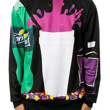 """Midnight"" Dirty Sprite Crewneck"