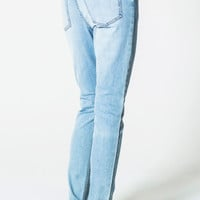Dropped Stonewash Blue Jeans | relaxed-fit | Cheapmonday.com