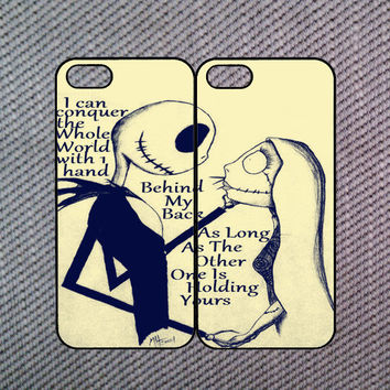 Jack and Sally iPhone 5S case,Cute iPhone 5S case,iPhone 5C case,iPhone 4 case,iPhone 4S case,iPod 4/5 case,Blackberry Z10 case,Q10 case.