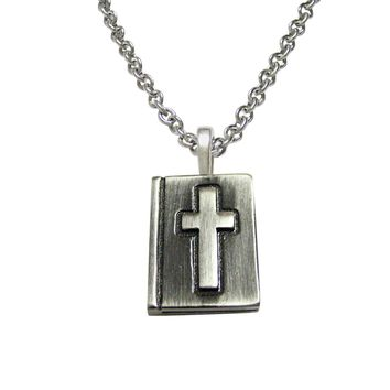 Religious Bible Pendant Necklace