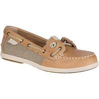 Women's Coil Ivy Boat Shoe in Tan by Sperry - FINAL SALE