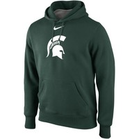 Nike Michigan State Spartans Classic Pullover Hoodie - Green