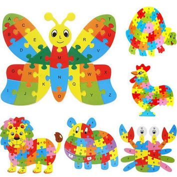 Wooden Baby Toys Puzzles