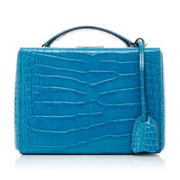 Small Alligator Grace Box Bag | Moda Operandi