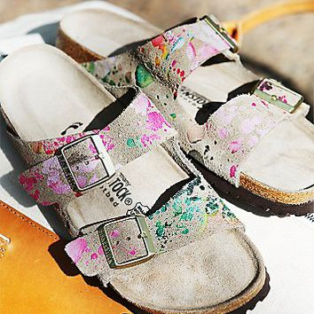 Birkenstock Womens Flower Crush Arizona Birkenstock