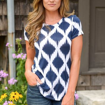 Endless Summer Top - Navy