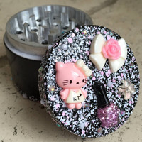 GRINDER -- Kitty Kawaii Glamour Grinder