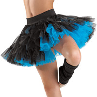 Reversible Two-Colored Tiered Skirt; Balera