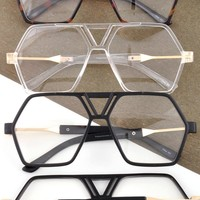 Hexagon Shape Glasses