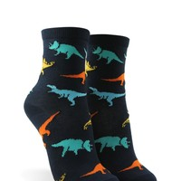 Dinosaur Graphic Crew Socks