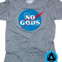 Mean Folk - No Gods Tri-Blend T-Shirt