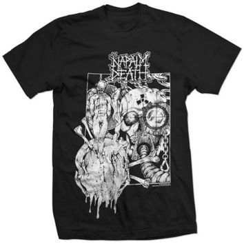 New NAPALM DEATH band rare limited Diatribes scum new SHIRT- All Sizes / Styles Hoodie Crewneck Sweatshirt Etc