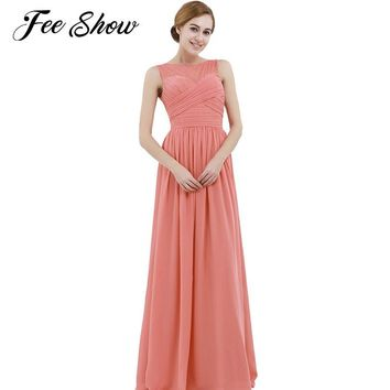 2018 Fashion Womens Lace Maxi Dress Vestido De Festa Elegant Party Dresses Solid Color Sleeveless Casual Lace Dress A-Line Dress
