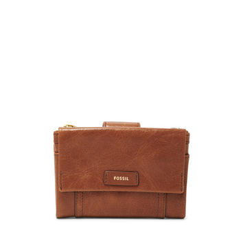 Ellis Multifunction Wallet, Brown