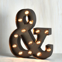 Dorm Decor Plain and Symbol Lamp by ModCloth
