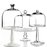 Martha Stewart Collection Serveware, Domed Cake Stands Collection - Serveware - Dining & Entertaining - Macy's