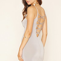 Strappy Scoop-Back Dress