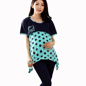 Hello Kitty and Other Styles of Maternity Tops and Pants Sets