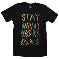 Altru Apparel Stay Wavvy mens shirt