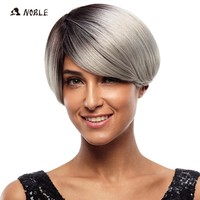 Noble Short High Temperature  8 Inch No Lace Synthetic Wigs