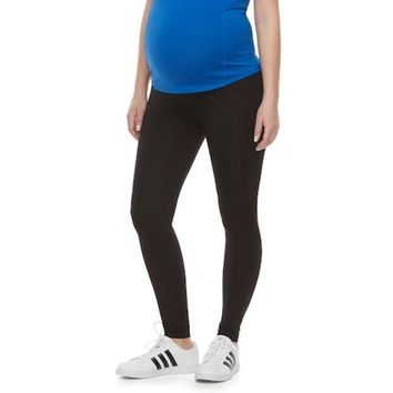 LMFPL3 Maternity a:glow Belly Panel Workout Leggings