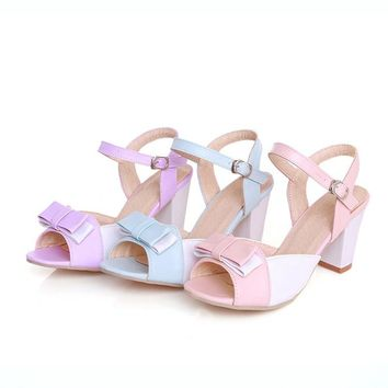 34-47 Women High Heels Open Toe Summer Party Shoes