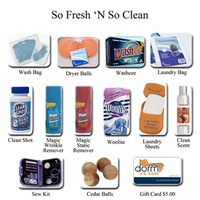 So Fresh N So Clean (Laundry) - College Gift Pack