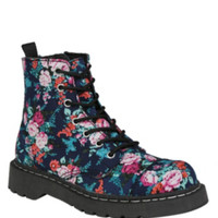 Anarchic By T.U.K. Floral Boots
