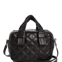 MARC JACOBSAntonia Bauletto Quilted Leather Satchel