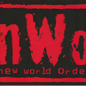 NWO New World Order WCW Wrestling Poster 23x34