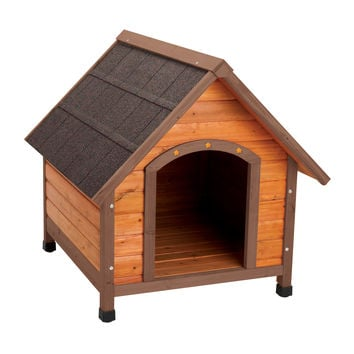 Ware Premium Plus A-Frame Dog House Sz: Med