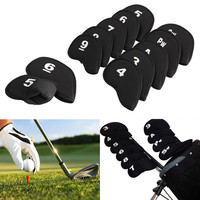 10 Pcs. Golf Club Iron Putter Head Cover